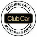 Club Car Precedent Rear Flip Seat Frame Cushions - Beige