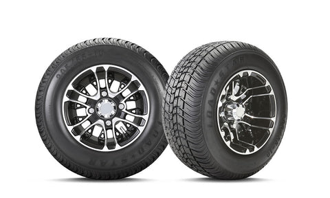 "10"" MERCURY WHEEL & 205/55-10 KENDA® LOADSTAR TIRE COMBO"