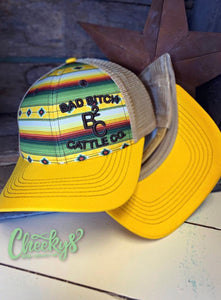 BB Cattle Co Sedona Serape Snap Back Cap