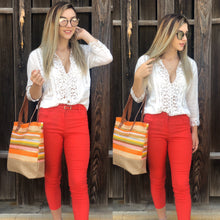 Load image into Gallery viewer, Coral Capri Pants