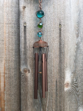 Load image into Gallery viewer, Copper Cross Wind Chime