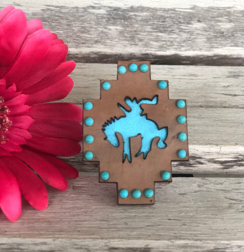 Brown Bronc POP Socket