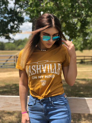 Mustard Nashville On My Mind Graphic T-Shirt