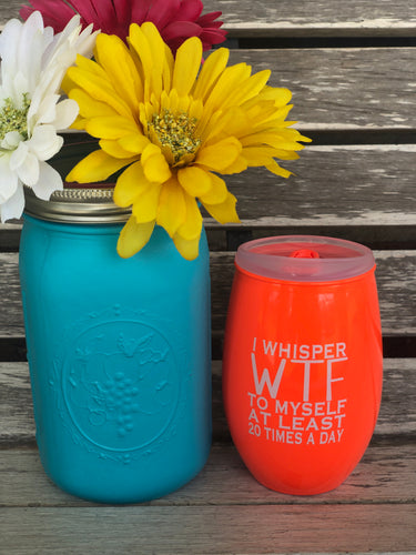 """I Whisper WTF"" Cup"