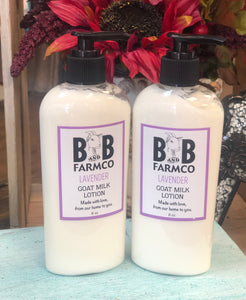 Lavender Goat Milk 8oz Lotion