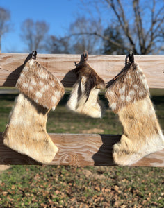 Fallow Christmas Stockings (3 pc Set)