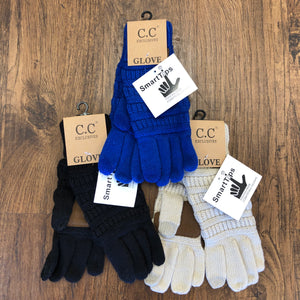C.C. SmartTip Knit Gloves
