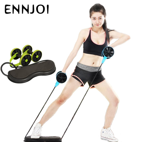 Resistance Pull Rope Abdominal Roller - Lifester