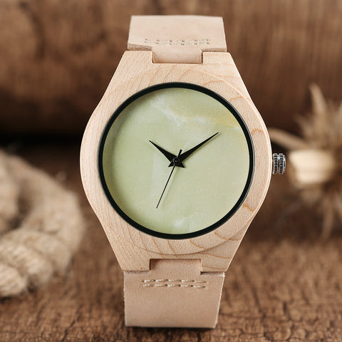 Wooden Watches Albino style - Lifester