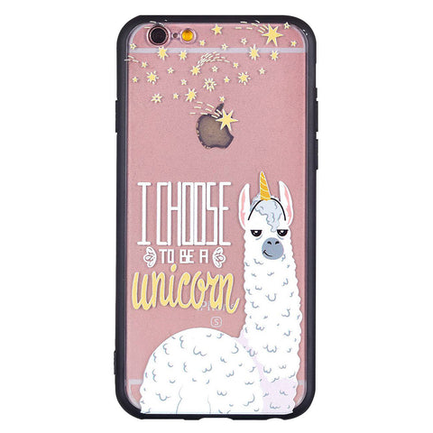 Alpaca Pattern Phone Case
