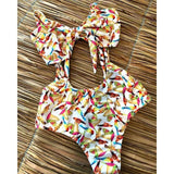 Two Piece Swimsuit Print Biquini