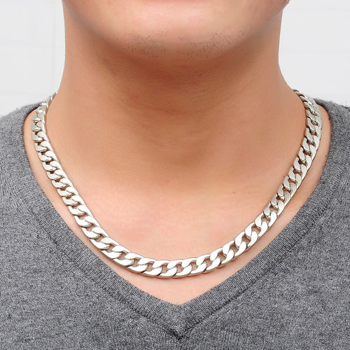Silver Jewellery Vintage Link Chain