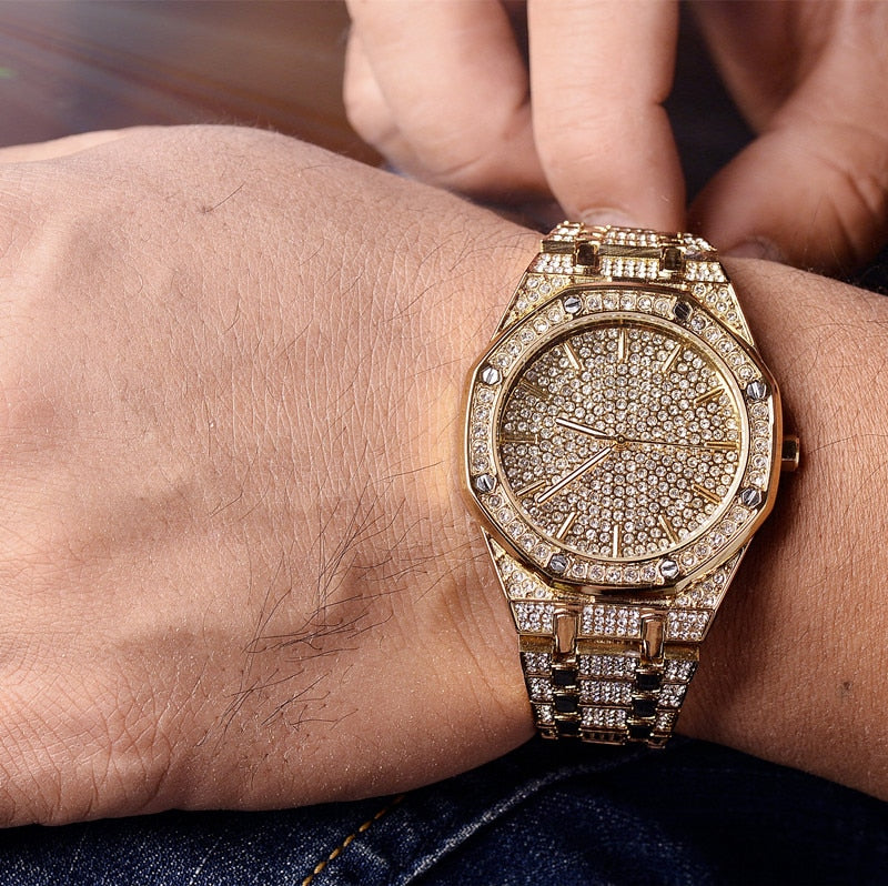 Luxury Iced Out Stylish Watch