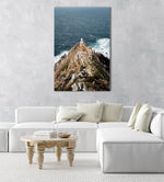 Lighthouse at Cape Point South Africa on windy day in an acrylic/perspex frame