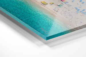 Acrylic/Perspex corner edge with photography print