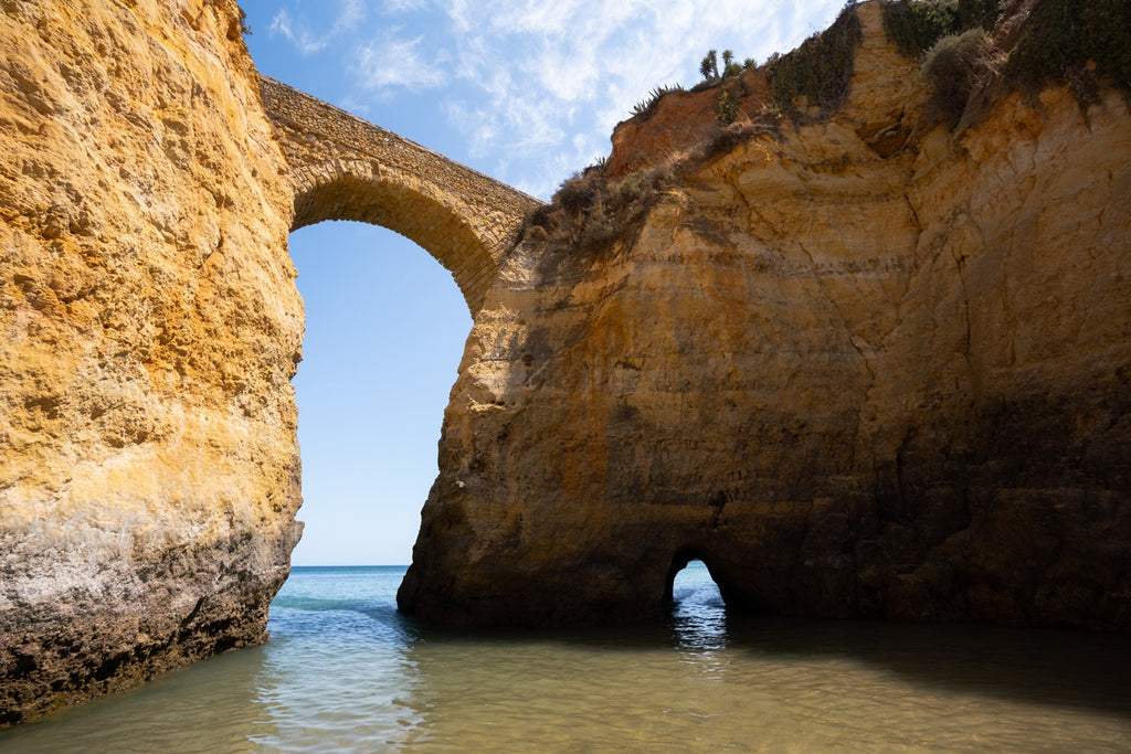 Arch at Praia da Batata in Lagos