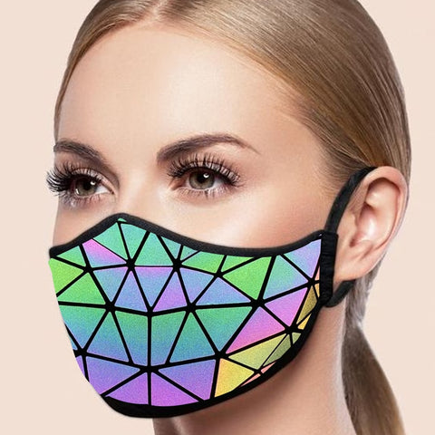 ULTIMO GEOMETRIC ANTI DUST REFLECTIVE FACE MASK