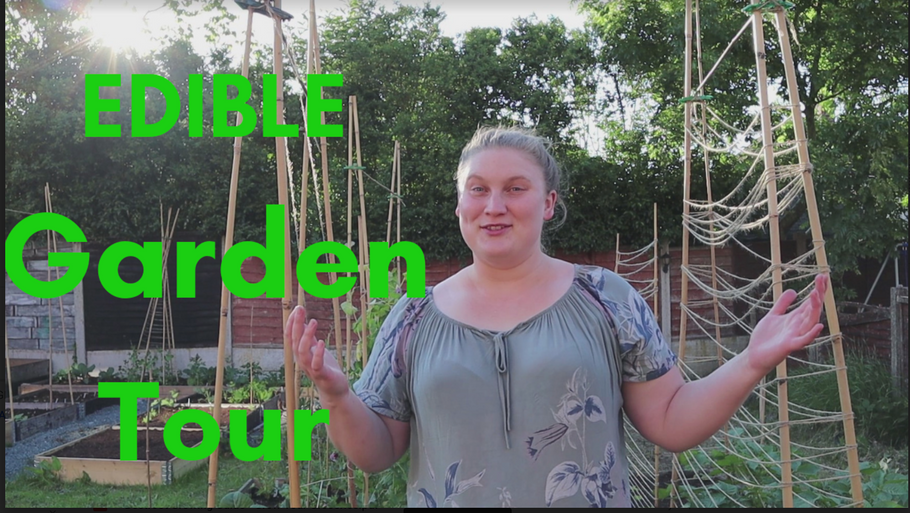 Grow Your Groceries | Kitchen Garden | Summer Garden Tour 2019
