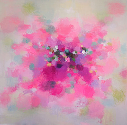 Abstract painting Sandy Dooley