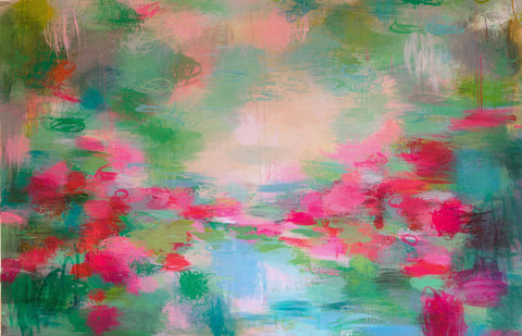abstract painting by Sandy Dooley
