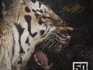 Animal Ambition Poster AUTOGRAPHED by 50!