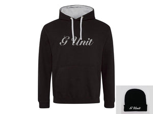 """G-Unit"" Bundle:  Embroidered Hoodie + Beanie"