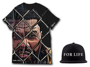 """FOR LIFE"" Limited Edition Bundle:  FOR LIFE Tee + FOR LIFE Snapback Hat"