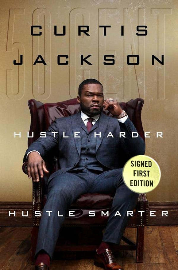 Hustle Harder, Hustle Smarter- AUTOGRAPHED 1ST EDITION, 1ST PRINTING
