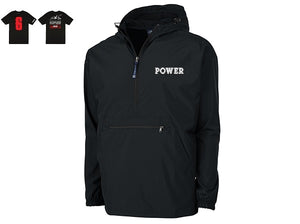 """POWER"" Limited Edition Bundle:  POWER Rain Jacket + POWER MSG Tee"