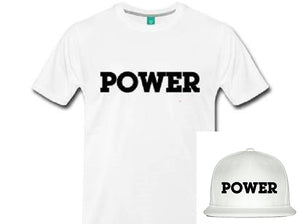 """POWER"" Limited Edition Bundle:  POWER Tee + POWER Snapback Hat"