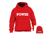 """POWER"" Hoodie Bundle:  POWER Hoodie + POWER Beanie Cap- SIRE SPIRITS VIP"