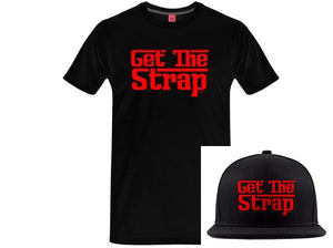 """Get the Strap"" V3 Bundle:  GTS Tee + GTS Snapback Hat"