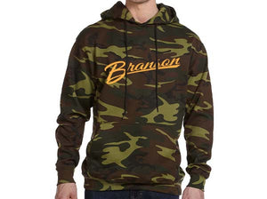 Branson Embroidered Camo Hoodie