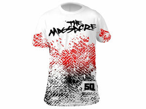 """The Massacre"" T-Shirt- Wht"