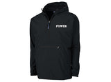 """POWER"" Embroidered Rain Jackets"