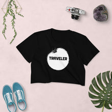 Load image into Gallery viewer, Traveler Crop Top Black