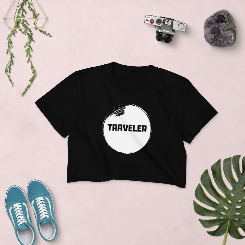 Traveler Crop Top Black