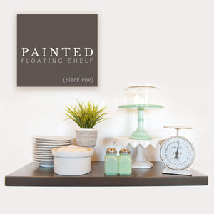 Painted Floating Shelves - Ultra Shelf