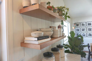 Cherry Floating Shelf With Natural Finish - Ultra Shelf
