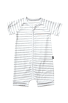 Bonds Zip Romper - New Grey Marle & White