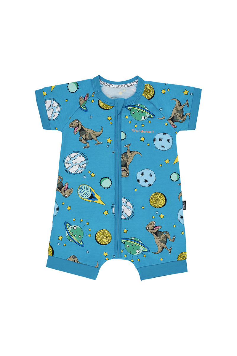 Bonds Zip Romper - T Rex Dream Time