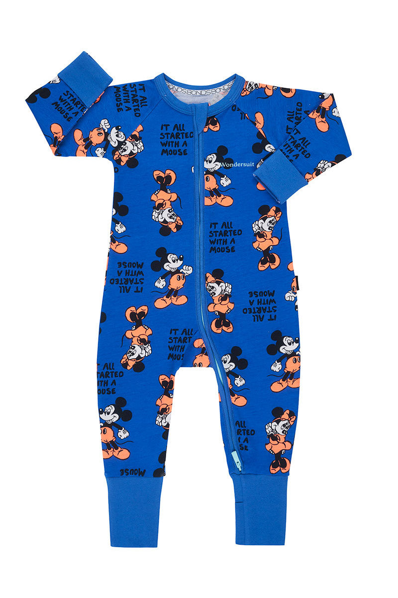 Bonds Disney Zip Wondersuit - Mickey & Minnie