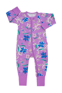 Bonds Zip Wondersuit - Floral Conga Pop Princess