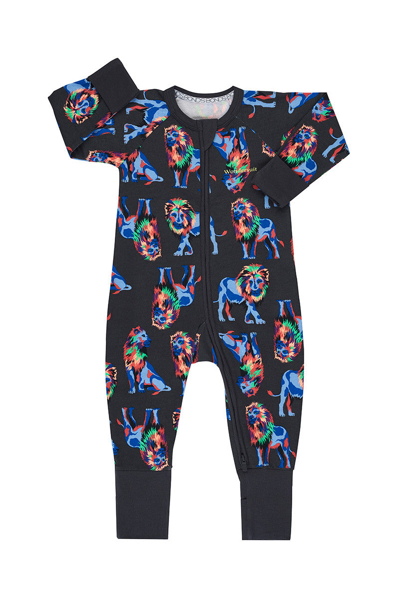 Bonds Zip Wondersuit - Rainbow Lion