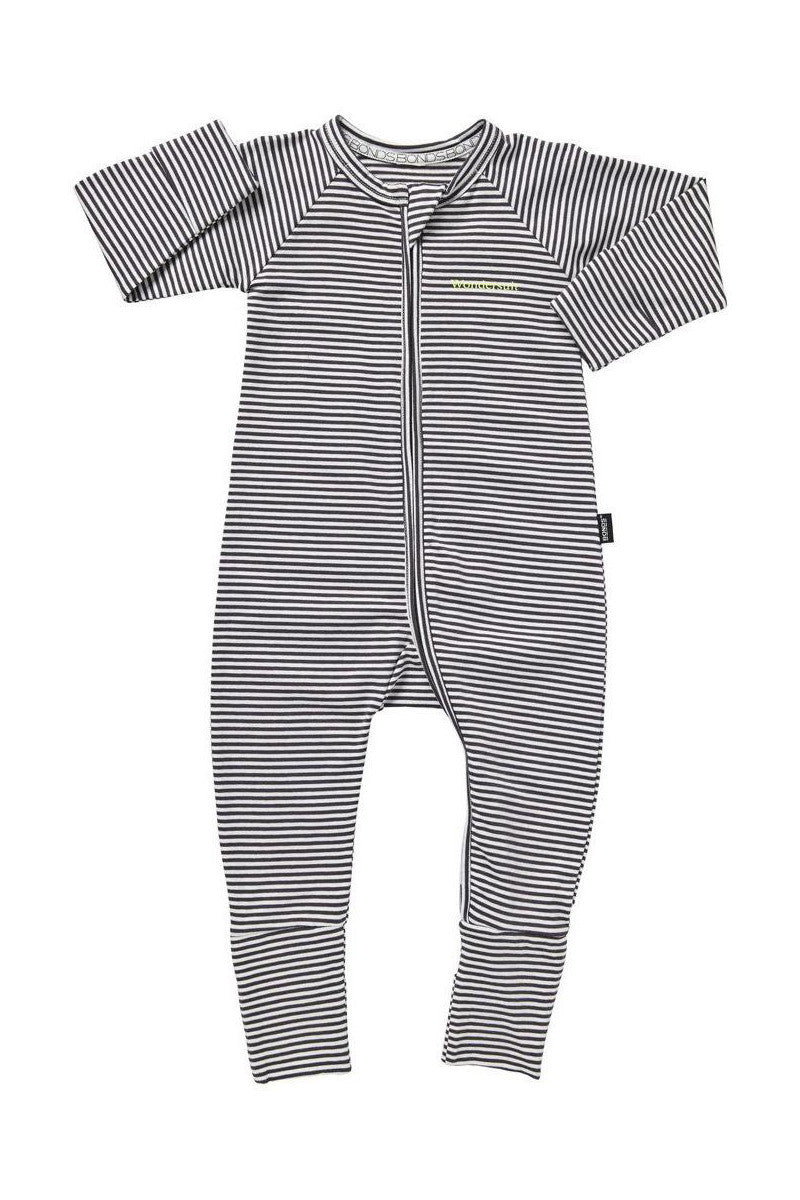 Bonds Zip Wondersuit - Absolute Steel / White