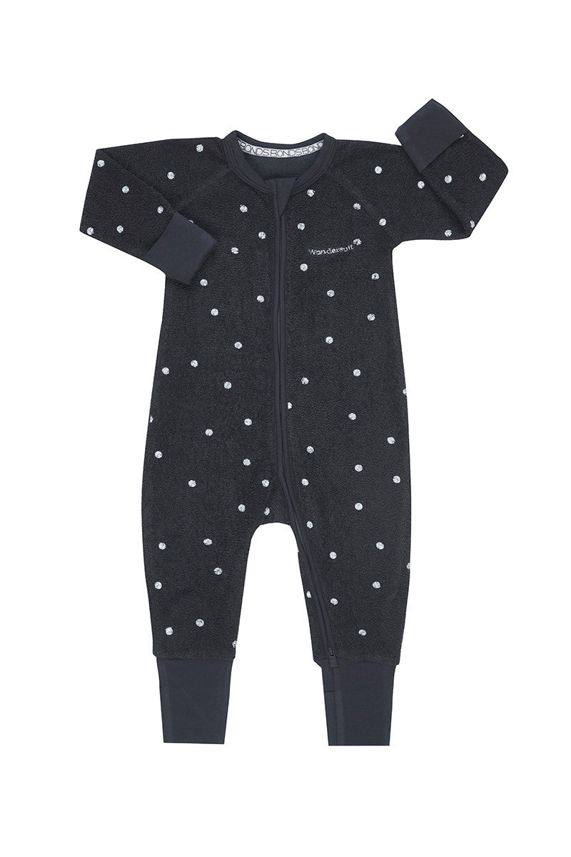 Bonds Poodlette Zip Wondersuit - Speckle Spot Solar System