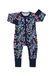 Bonds Zip Wondersuit - Blossoming Butterflies Navy