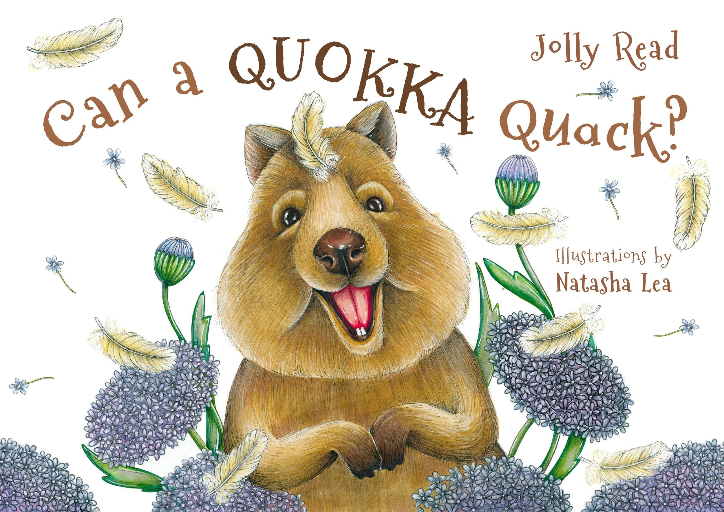 Can a Quokka Quack (Softcover) by Jolly Read