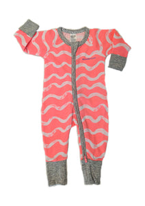 Bonds Zip Wondersuit - Pink Summer Wave Fruit Burst