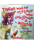 There was an Old Lady who Swallowed a Mozzie by P. Crumble & Louis Shea
